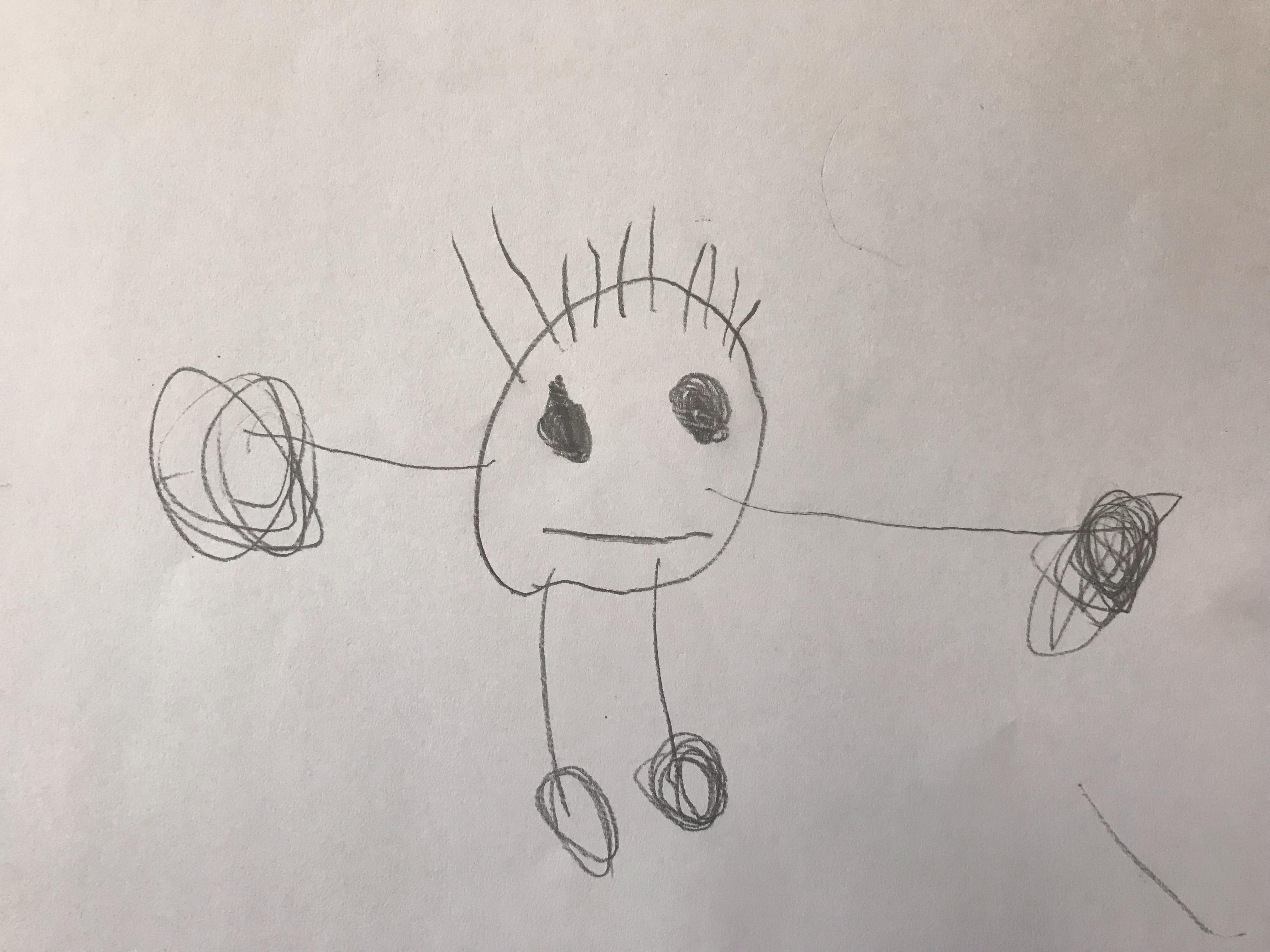 Kako Crtaju Deca Od Treće Do Pete Godine života